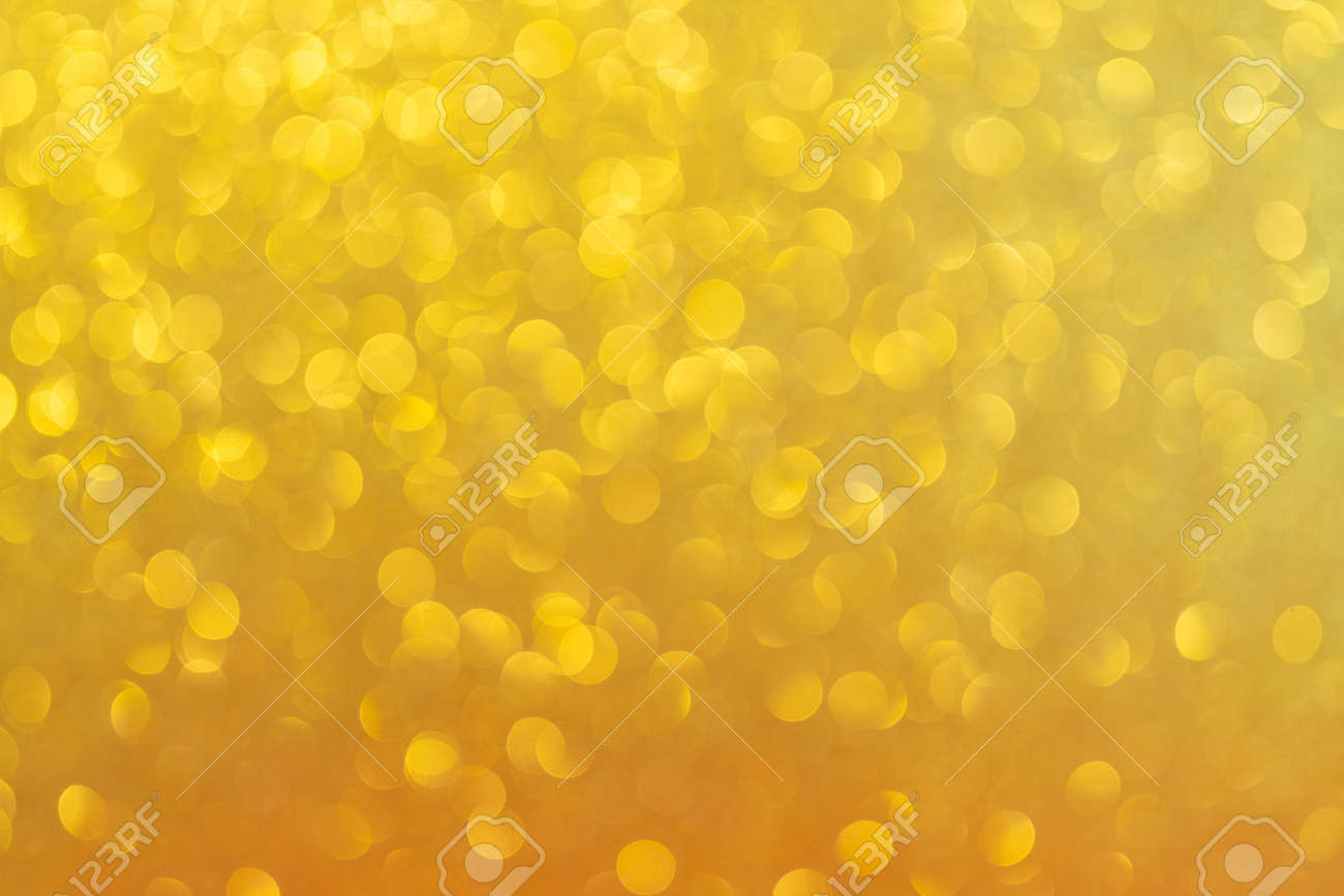 Abstract golden background. Beautiful bokeh effect. Light circles background. - 157657750