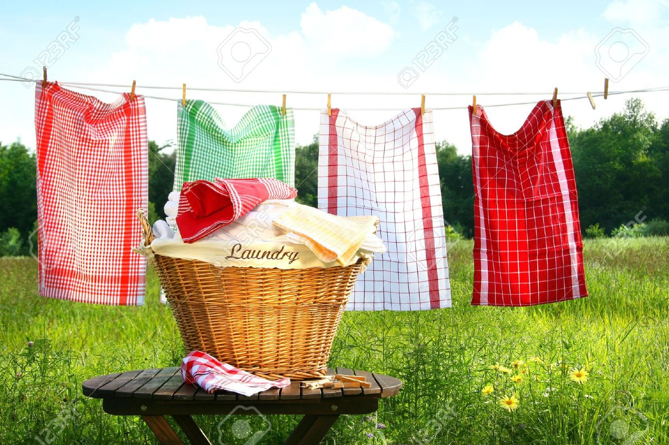 https://previews.123rf.com/images/sandralise/sandralise0807/sandralise080700020/3305372-towels-drying-on-the-clothesline-with-laundry-basket.jpg