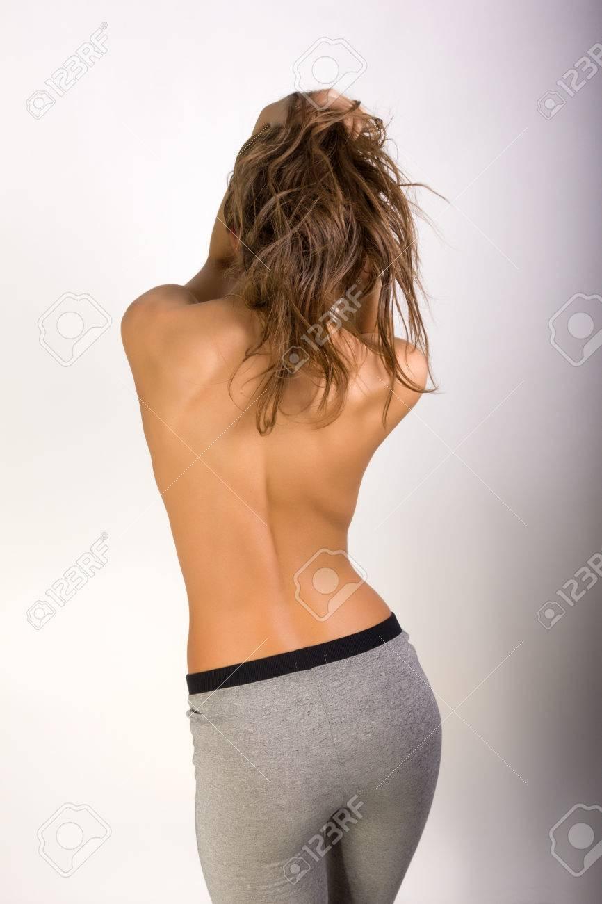 bare girl photo