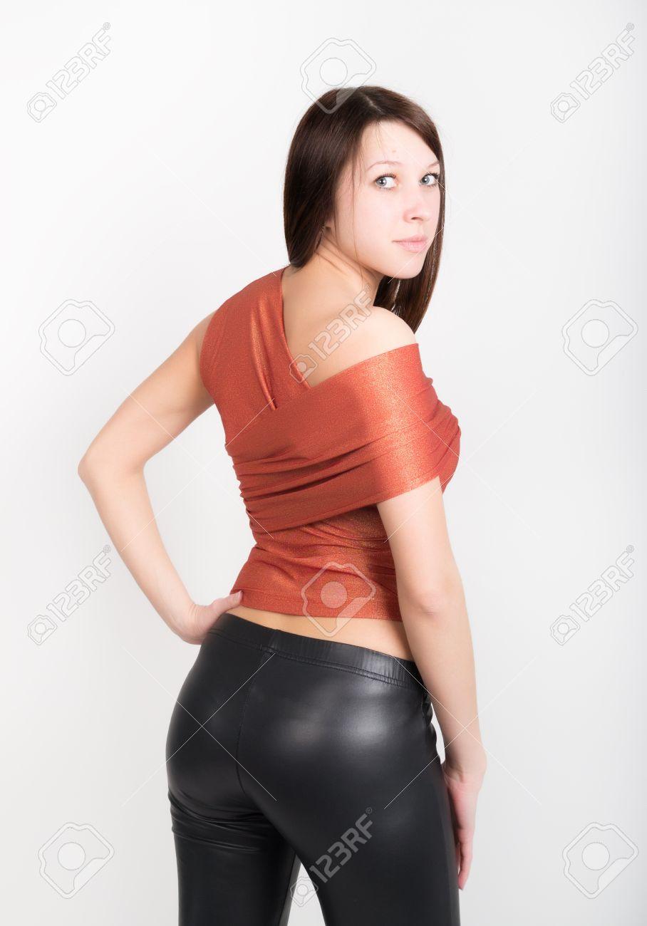 ladies in leatherpants
