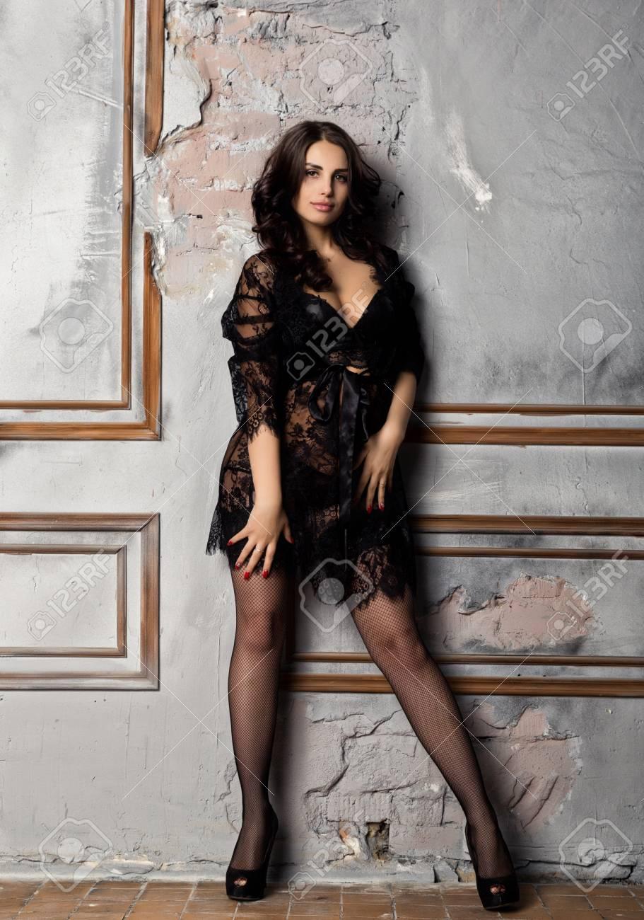 Sexy older women in stockings