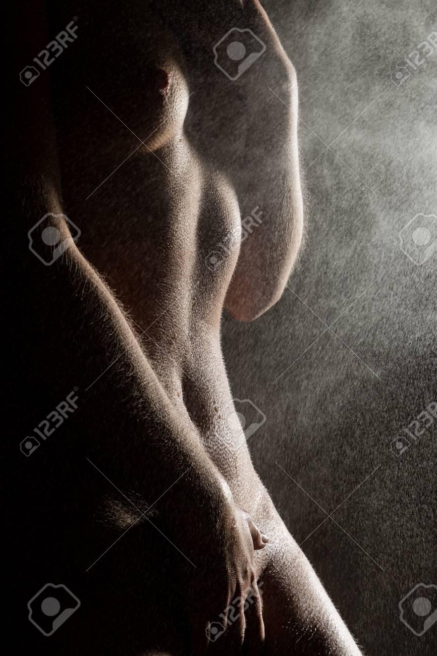 Schwarze weibliche Nacktheit