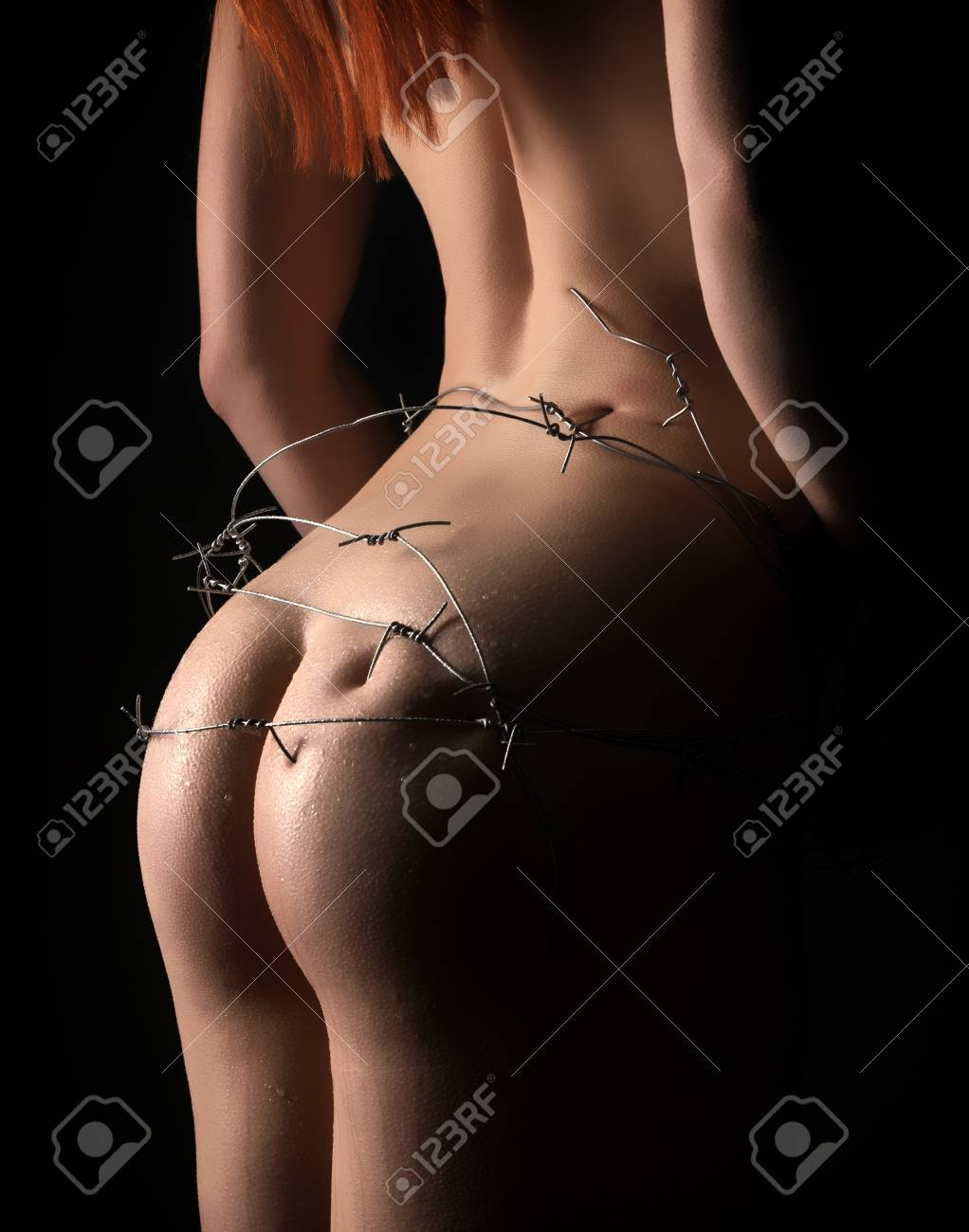 Barbed Wire Nude