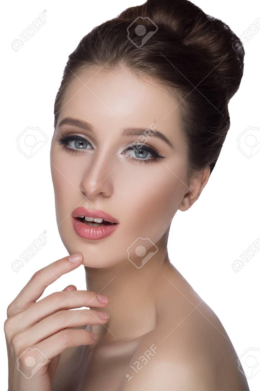 visage femme parfaite