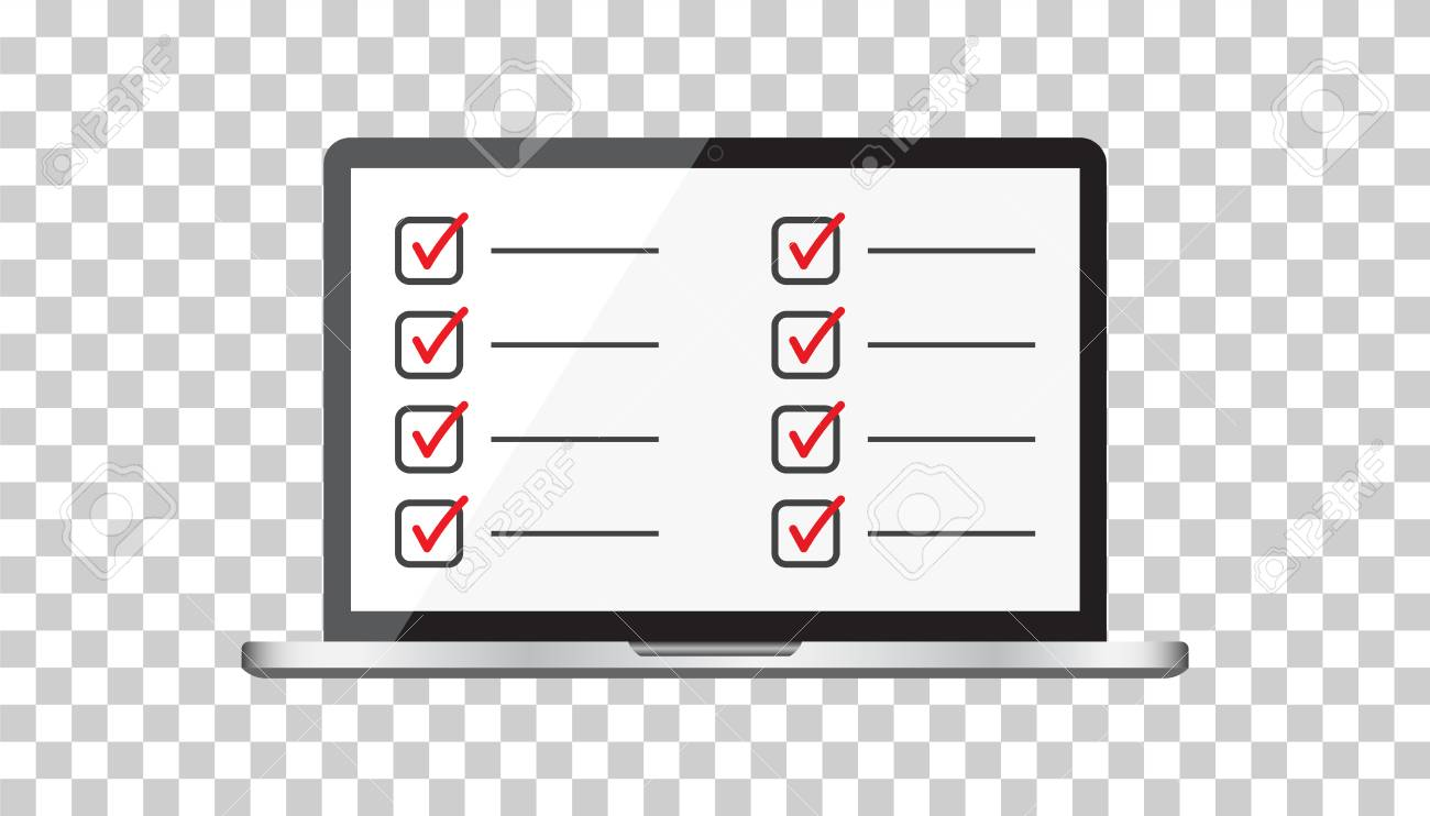 Businessman checklist with notebook  Check list icon flat vector
