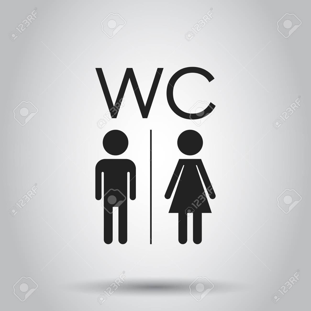 Männer und frauen zeichen