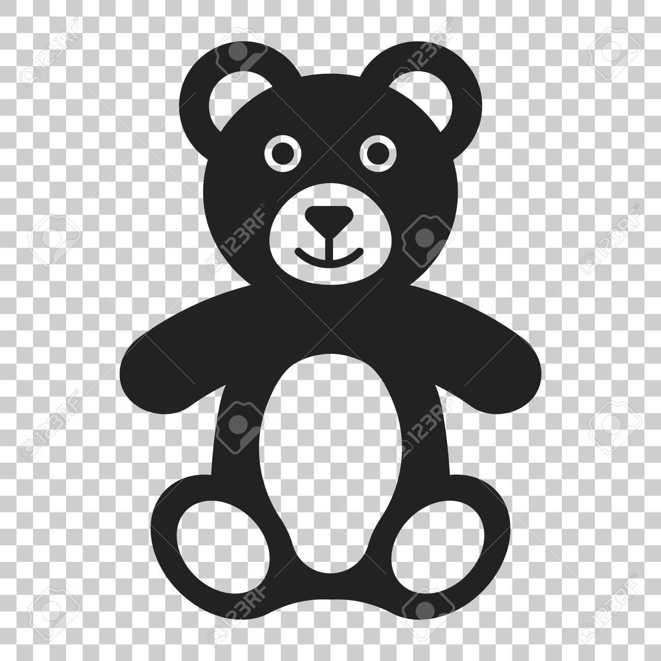 teddy bear plush toy icon vector illustration on isolated transparent royalty free cliparts vectors and stock illustration image 100764863 teddy bear plush toy icon vector illustration on isolated transparent