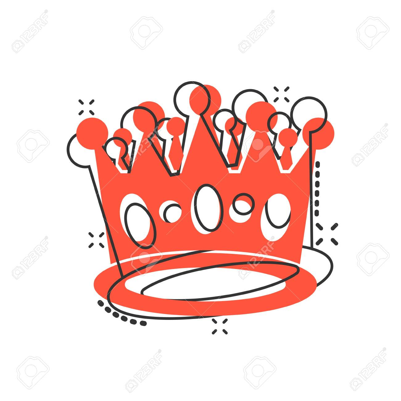 Vector Cartoon Crown Diadem Icon In Comic Style Royalty Crown Royalty Free Cliparts Vectors And Stock Illustration Image 131204184 Crown princes cartoon 6 of 35. 123rf com