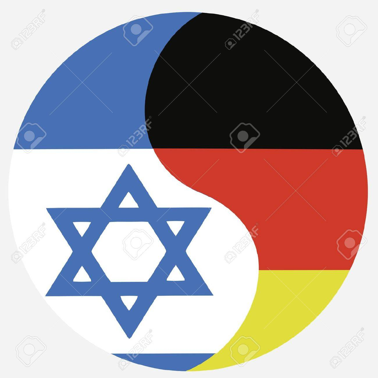 Germany and israel symbol for the reconciliation and close germany and israel symbol for the reconciliation and close relationship between the two countries stock buycottarizona Choice Image