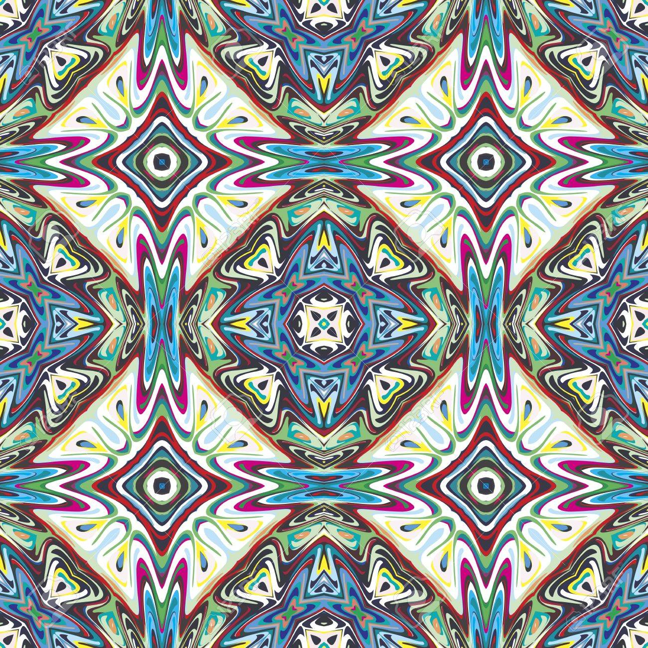 ^ Mexican Pattern, Sophisticated rtwork Inspired By ncient Motifs ...