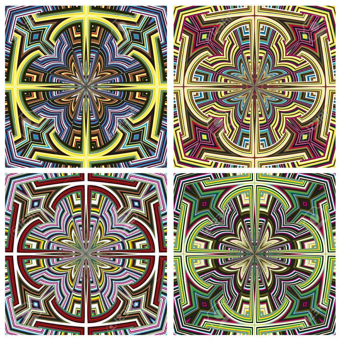 Design art from kenya modern seamless vector pattern in vivid design art from kenya modern seamless vector pattern in vivid colors derived from east african spiritual biocorpaavc