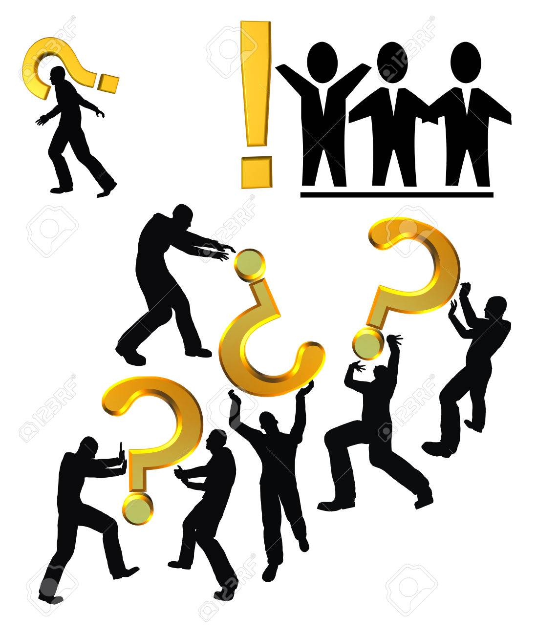 Questions and Answers Communication conflict between workers