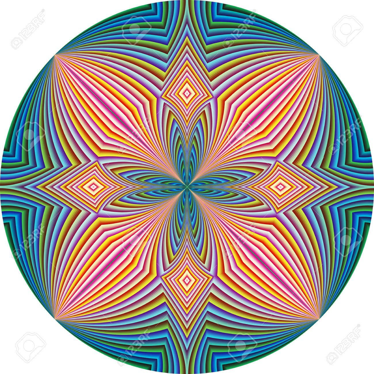 Spiritual pattern symbol for harmony unity and peace of mind spiritual pattern symbol for harmony unity and peace of mind round in modern biocorpaavc Gallery