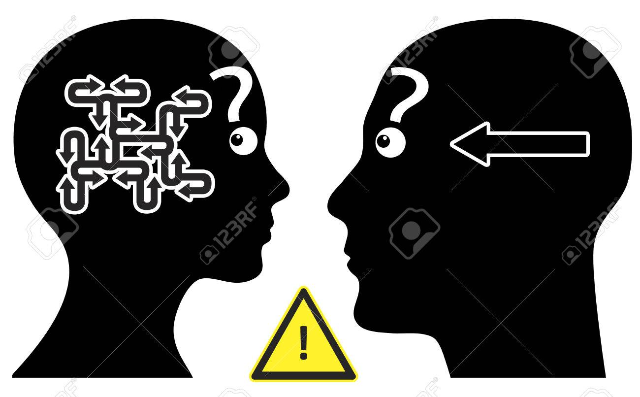 Simple Question Man and woman have different communication pattern