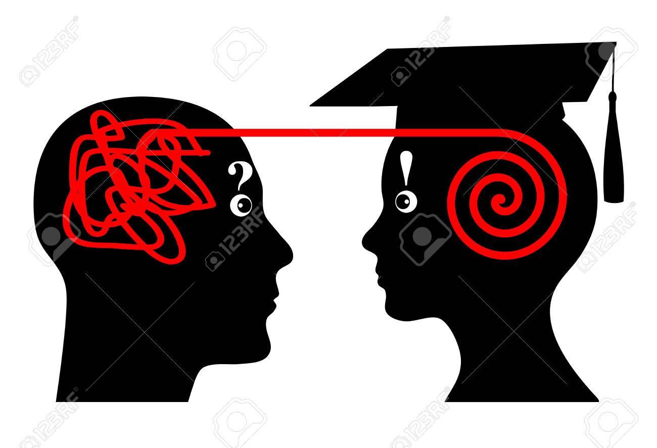 University Mentoring. Mentor assists student in his academic studies - 33877470