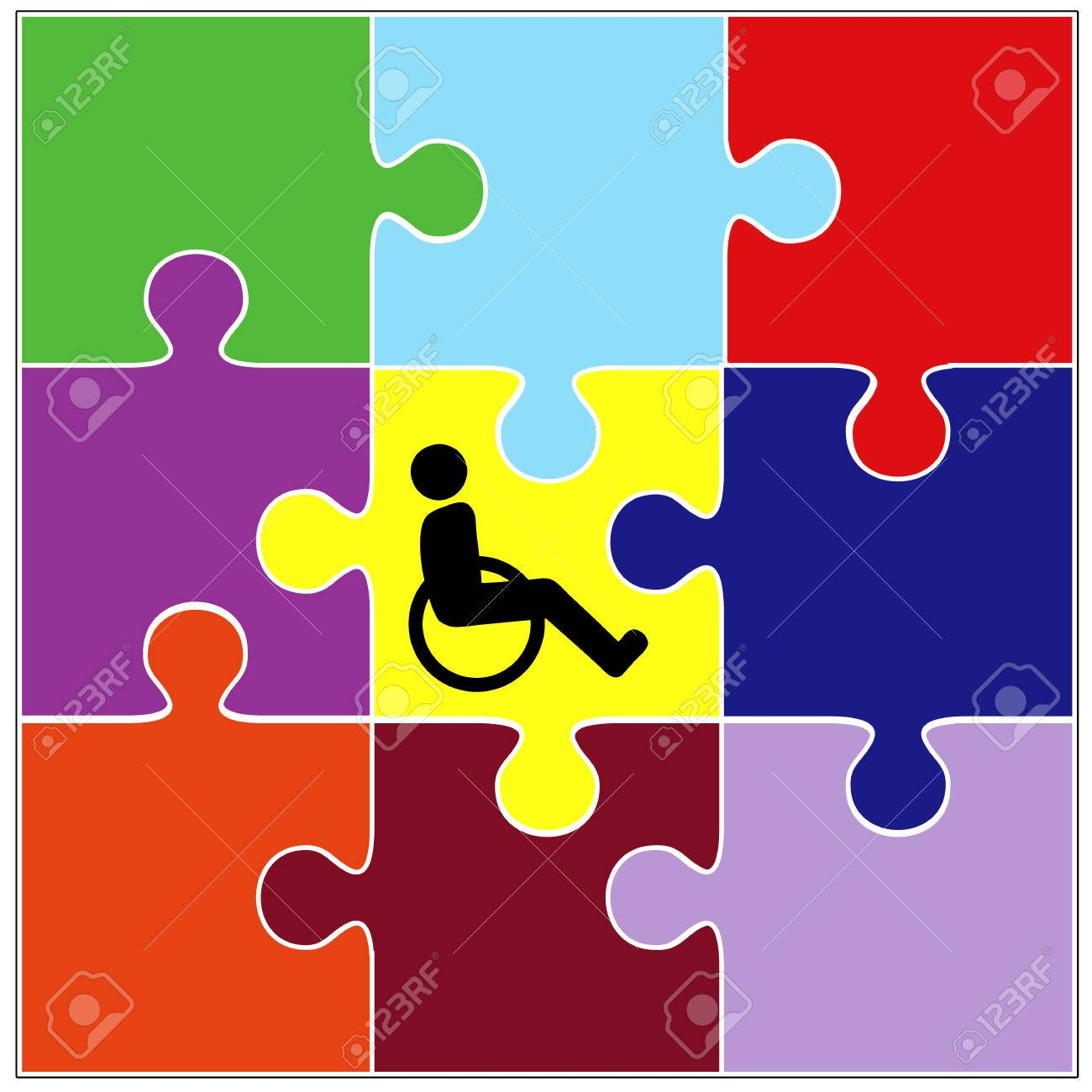 Inclusion sign symbol for the successful integration of inclusion sign symbol for the successful integration of handicapped people into community living stock photo biocorpaavc Image collections
