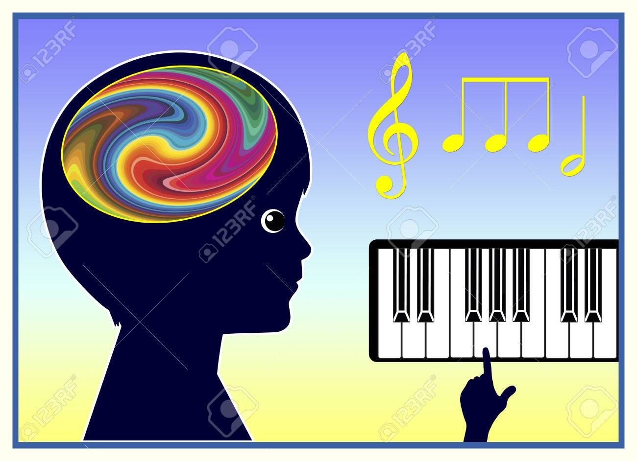 Music Therapy. Music is helping children to improve Their Physical and Mental Health - 43398649
