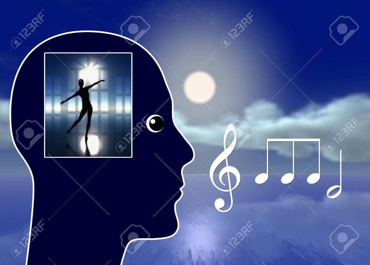 Music Make You Dream. Classical music leading to lucid dreaming, relaxation and stress reduction - 43398656