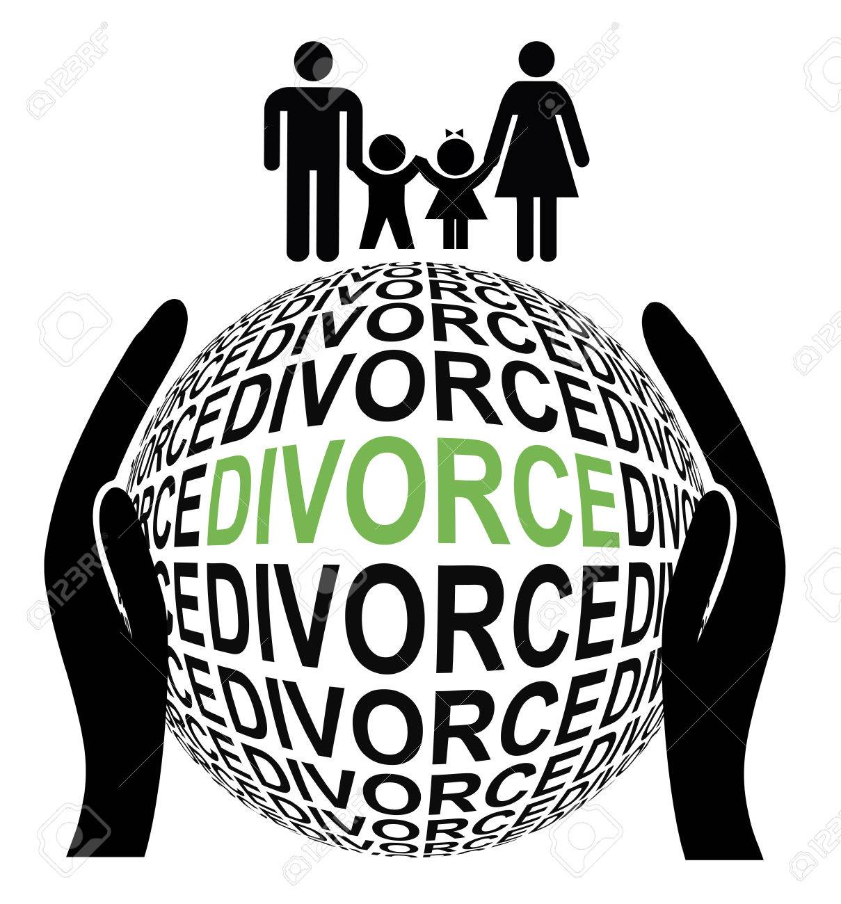 Amicable Divorce And Peaceful Couple Separate By Mutual Agreement