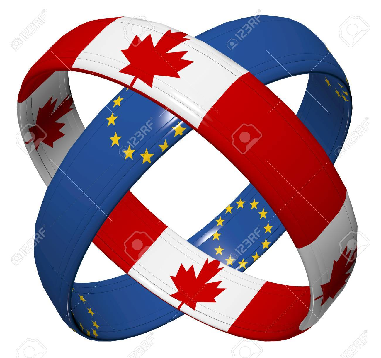 Ceta Trade Agreement Symbol For The Comprehensive Economic
