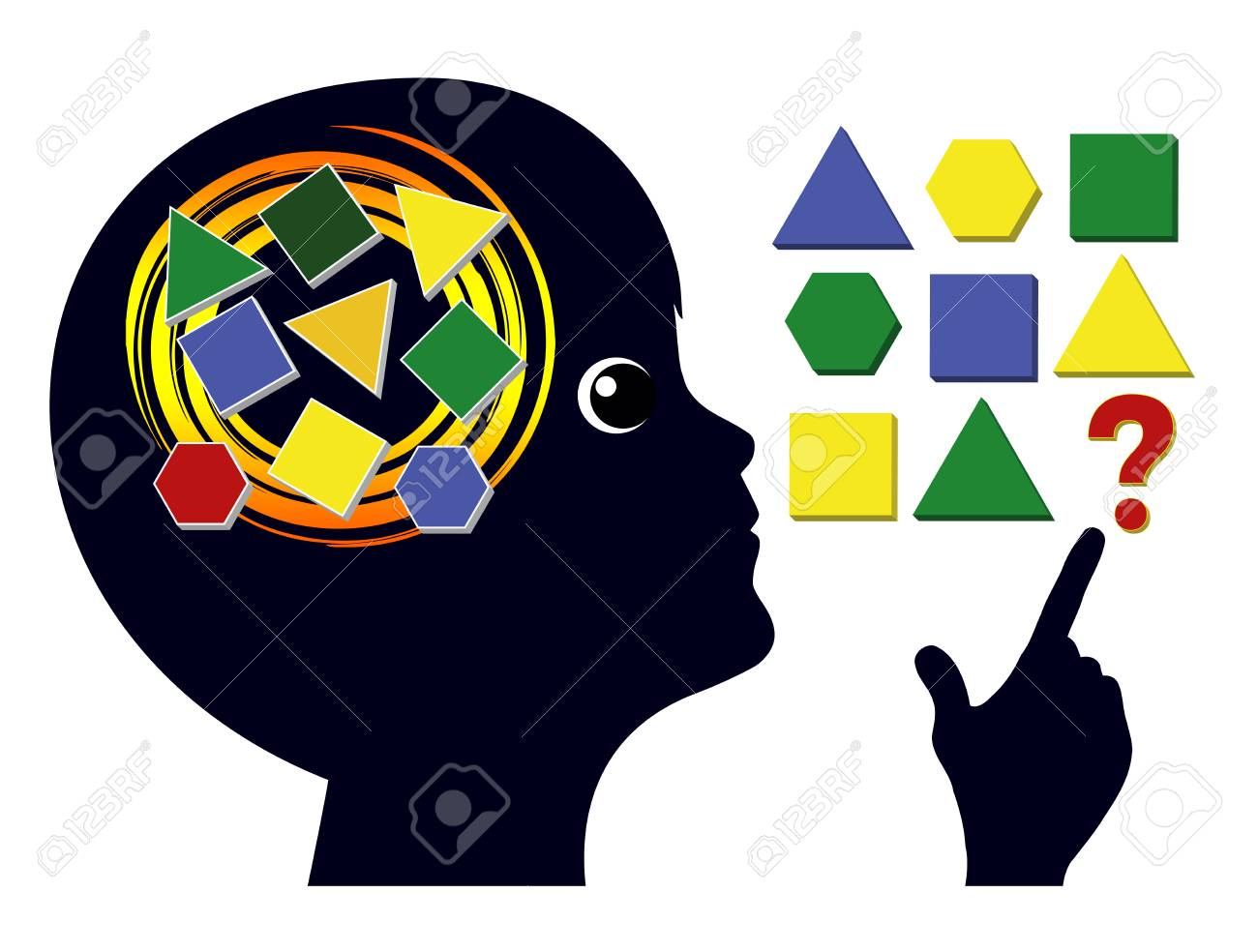 Brain Games for Children. Brain training in early childhood education to sharpen the mind - 101909064