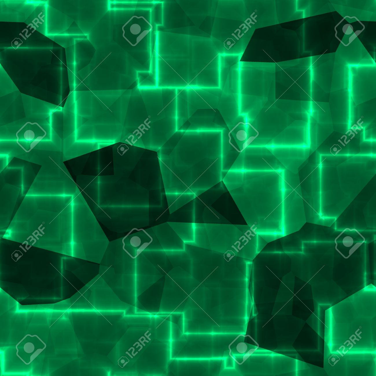 Abstract Emerald Green Wallpaper Background Pattern