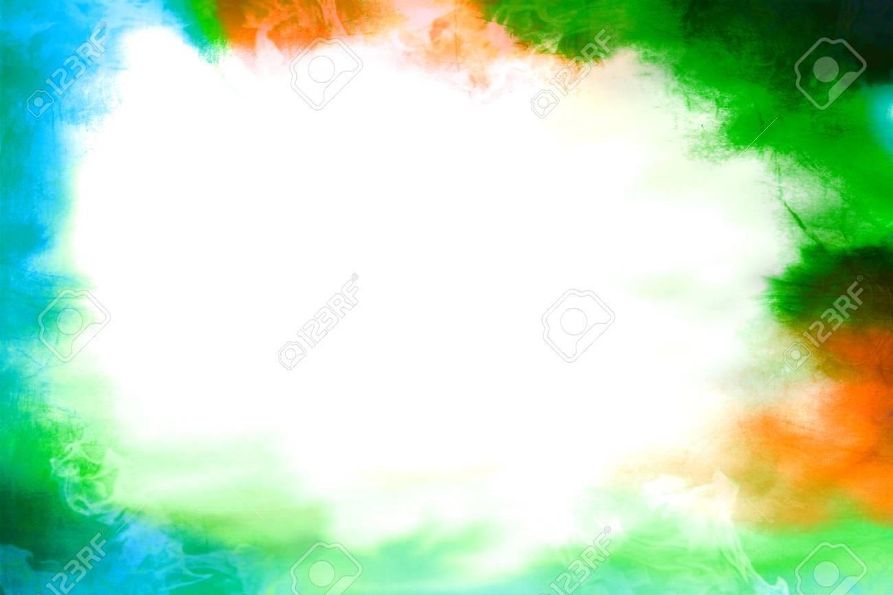 Cadre Vide vignette de cadre vide coloré vert et orange et bleu vide banque d