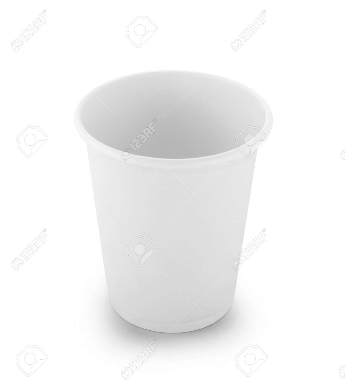 paper cup isolated on white background - 168887903