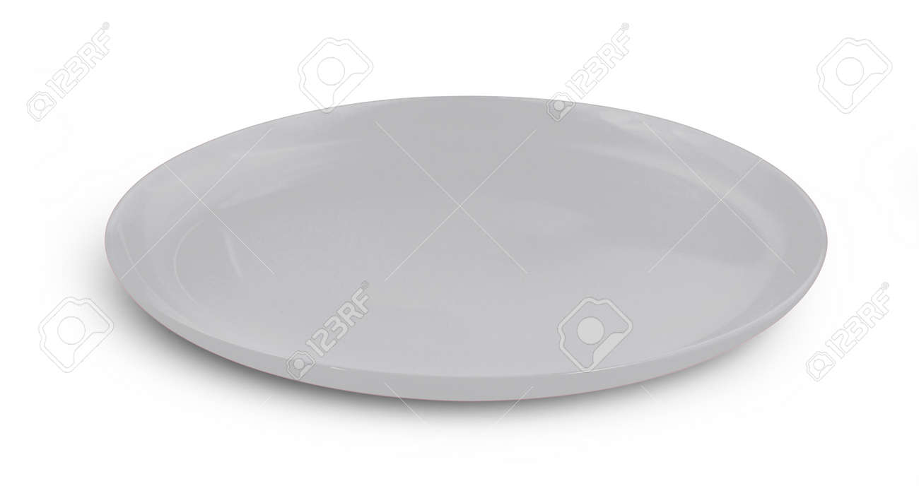 plate isolated on white background - 150410968