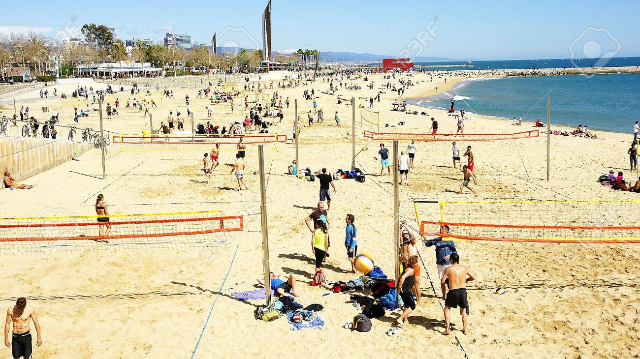 Here's a look at some Volleyball groups near Barcelona.