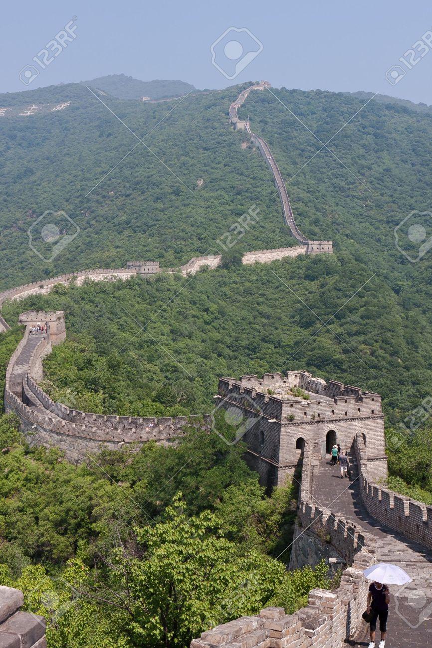 Great chinese Wall at Mutianyu Stock Photo - 10263236