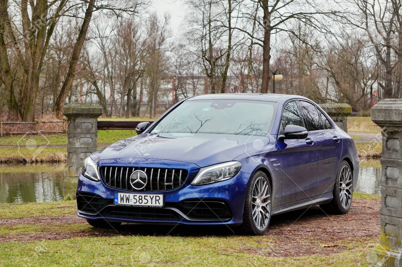 Krakow Poland 19 02 2020 New Luxury Sport Car Mercedes Benz Stock Photo Picture And Royalty Free Image Image 145014676