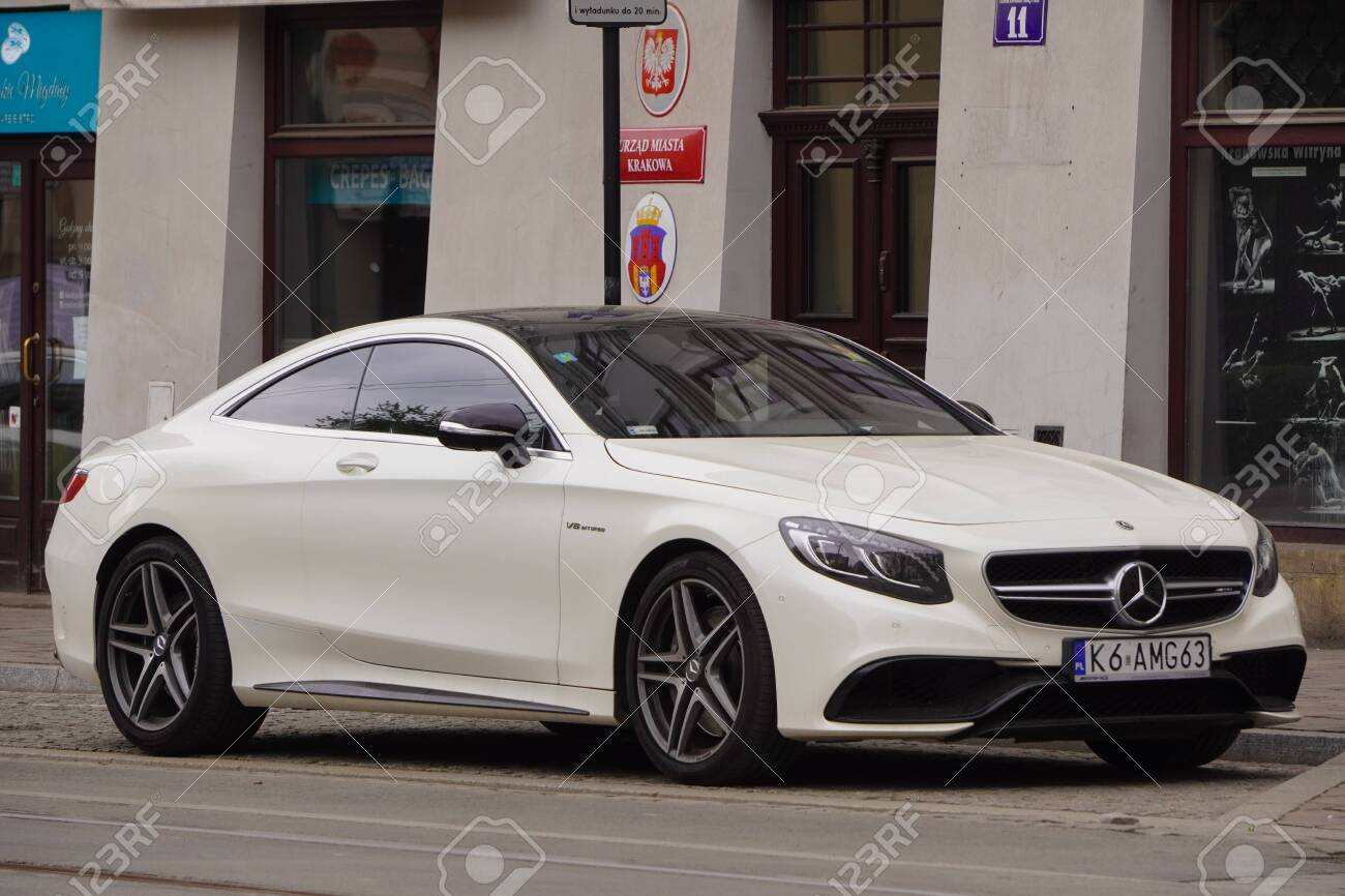 Krakow Poland 19 02 2020 New Luxury Sport Car Mercedes Benz Stock Photo Picture And Royalty Free Image Image 148475357