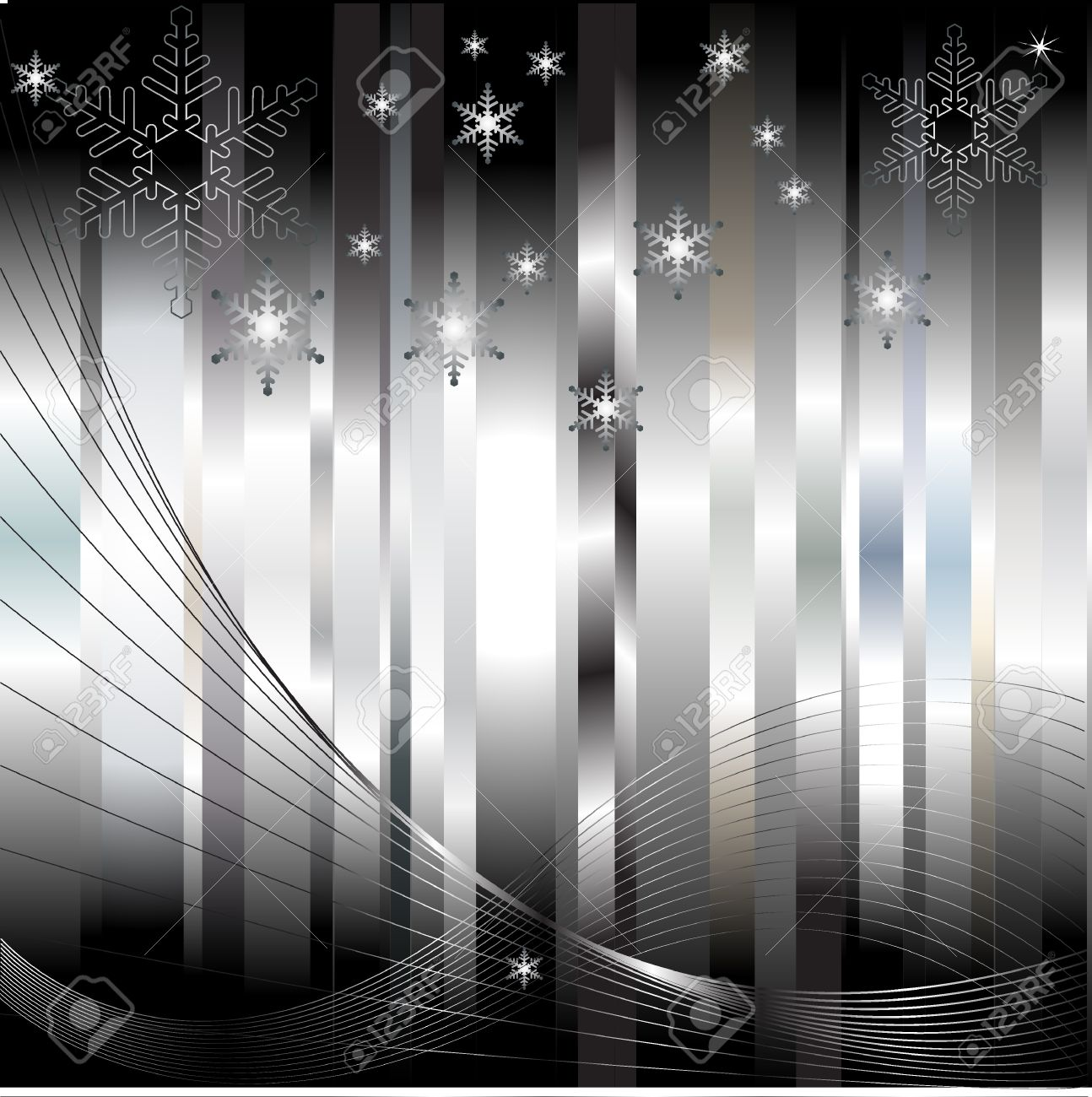 Abstract colorful silver background Stock Vector - 9722130