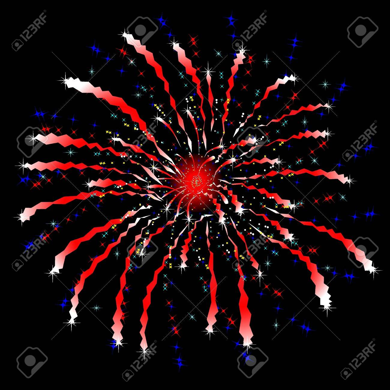 vector firework Stock Vector - 9722127