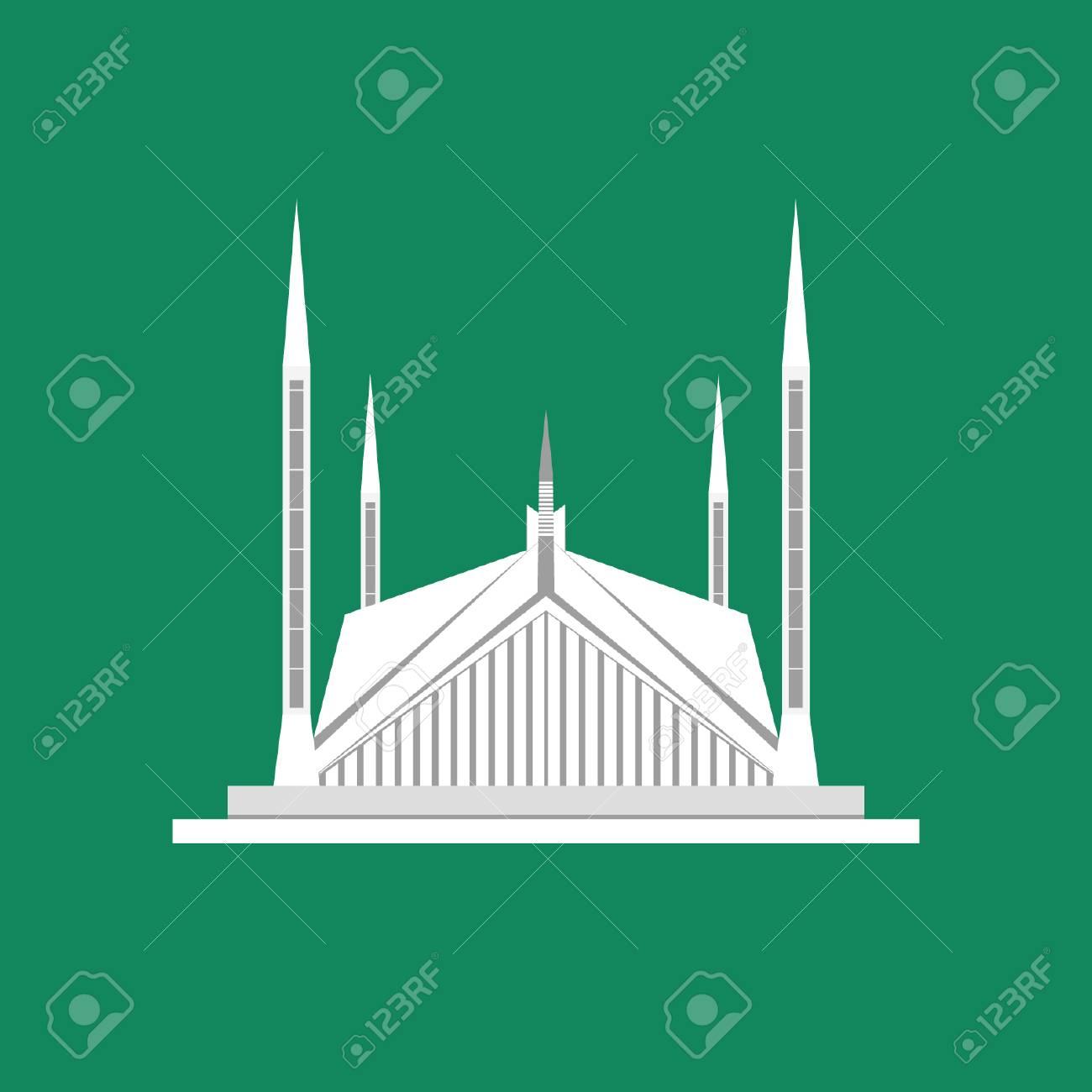 Faisal Mosque - Landmark of Pakistan - 110619486