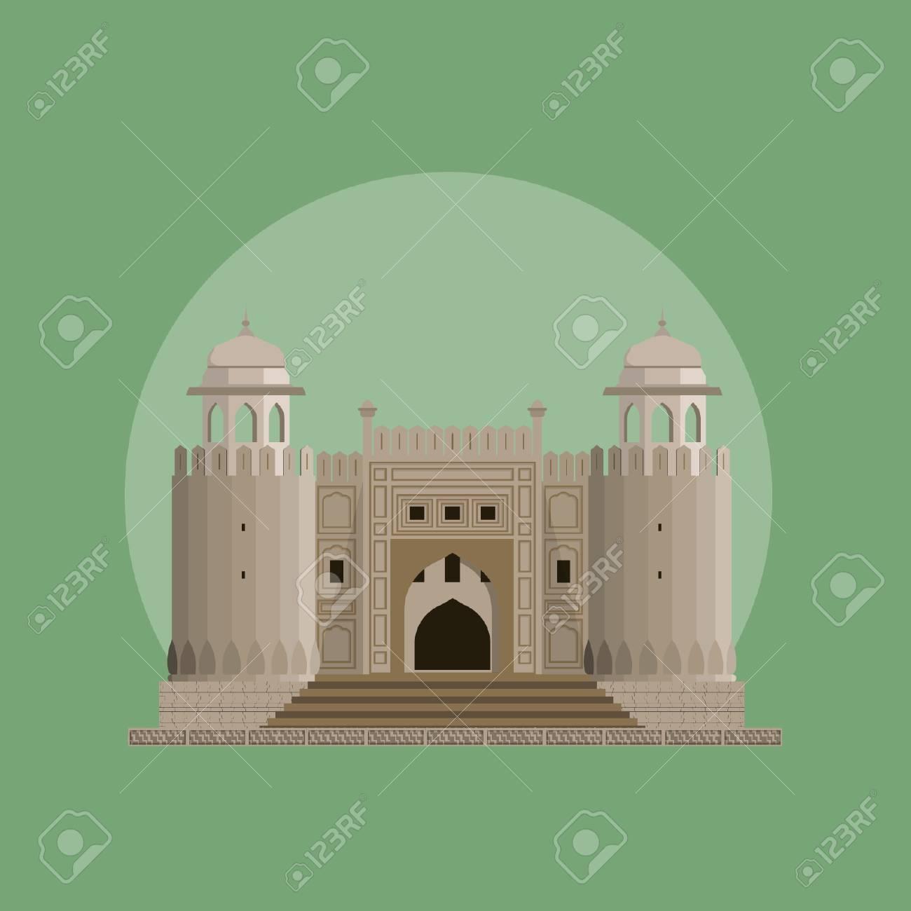 Lahore Fort - Historical Landmark of Pakistan - 110619498