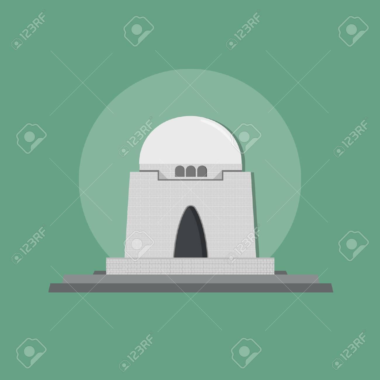 Jinnah Tomb Landmark of Karachi – Pakistan - 110619513