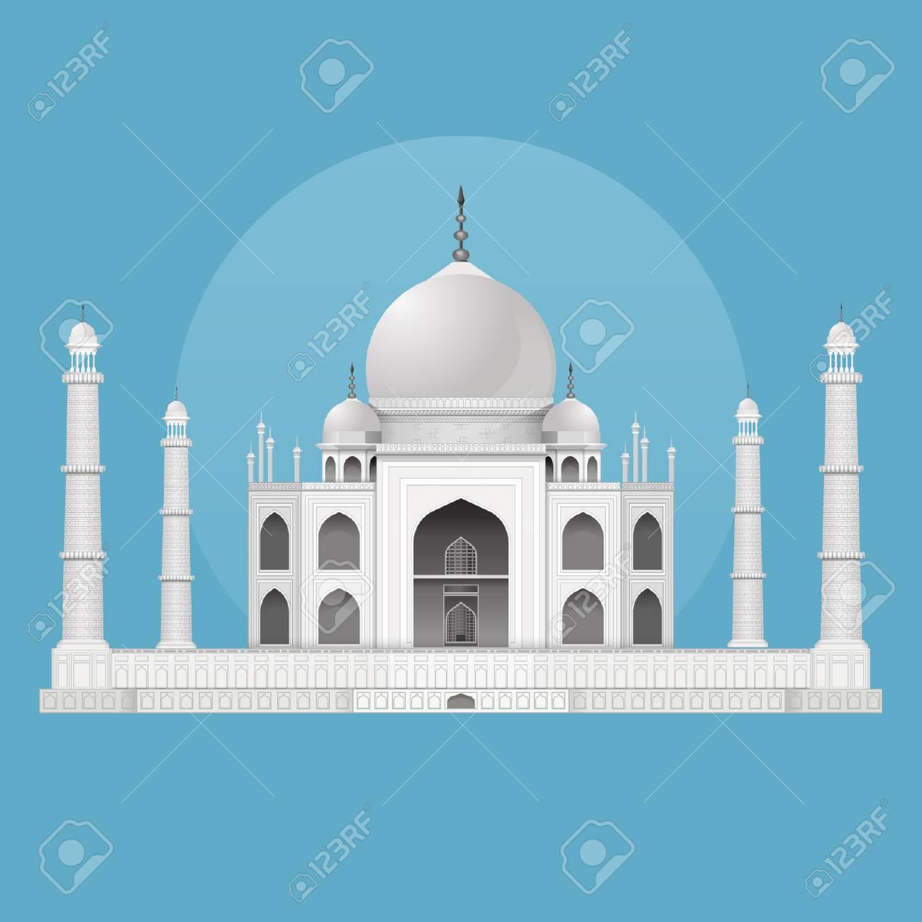 Taj Mahal - Indian Landmark - 110619514