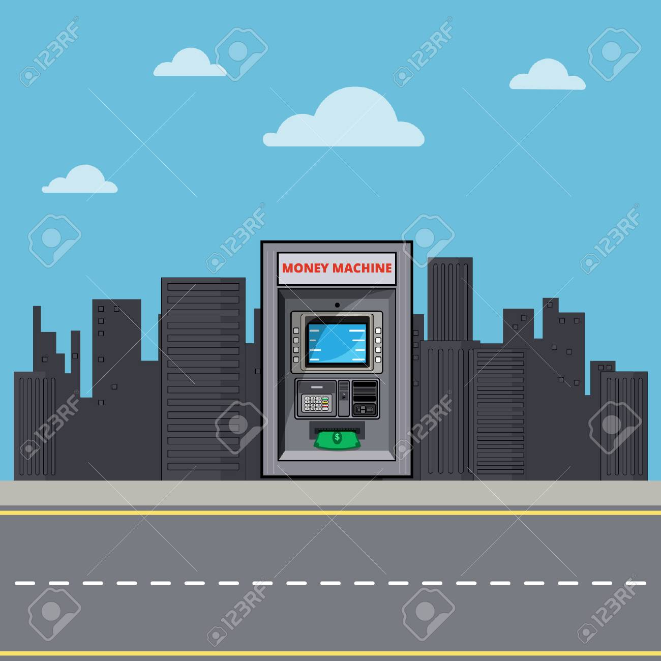 ATM in the City - 110619521