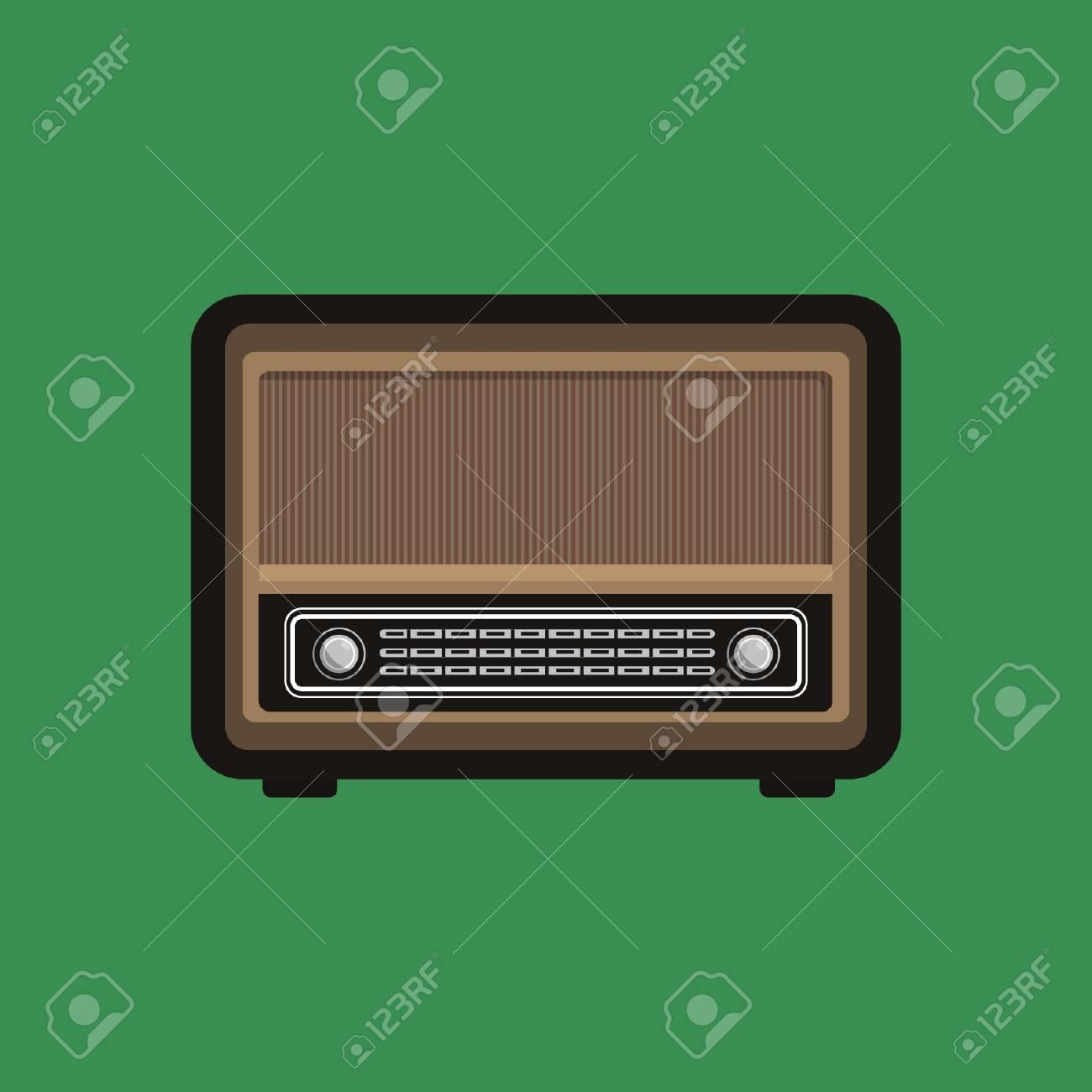 Radio Gadget - Vector Design - 110619543