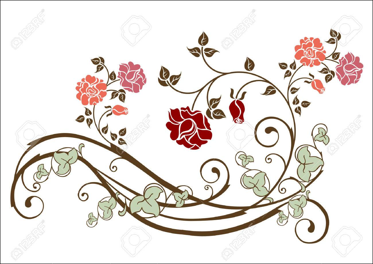 floral element Stock Vector - 5905916