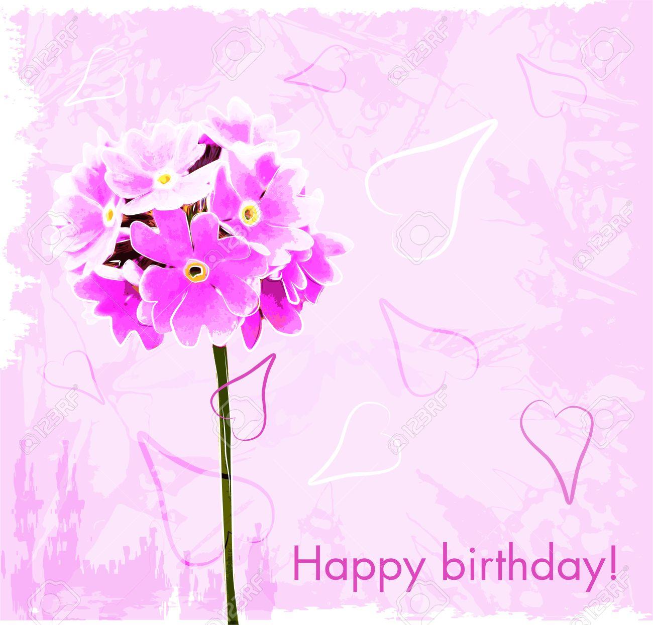 Happy birthday flowers cards – 123 Happy Birthday Cards