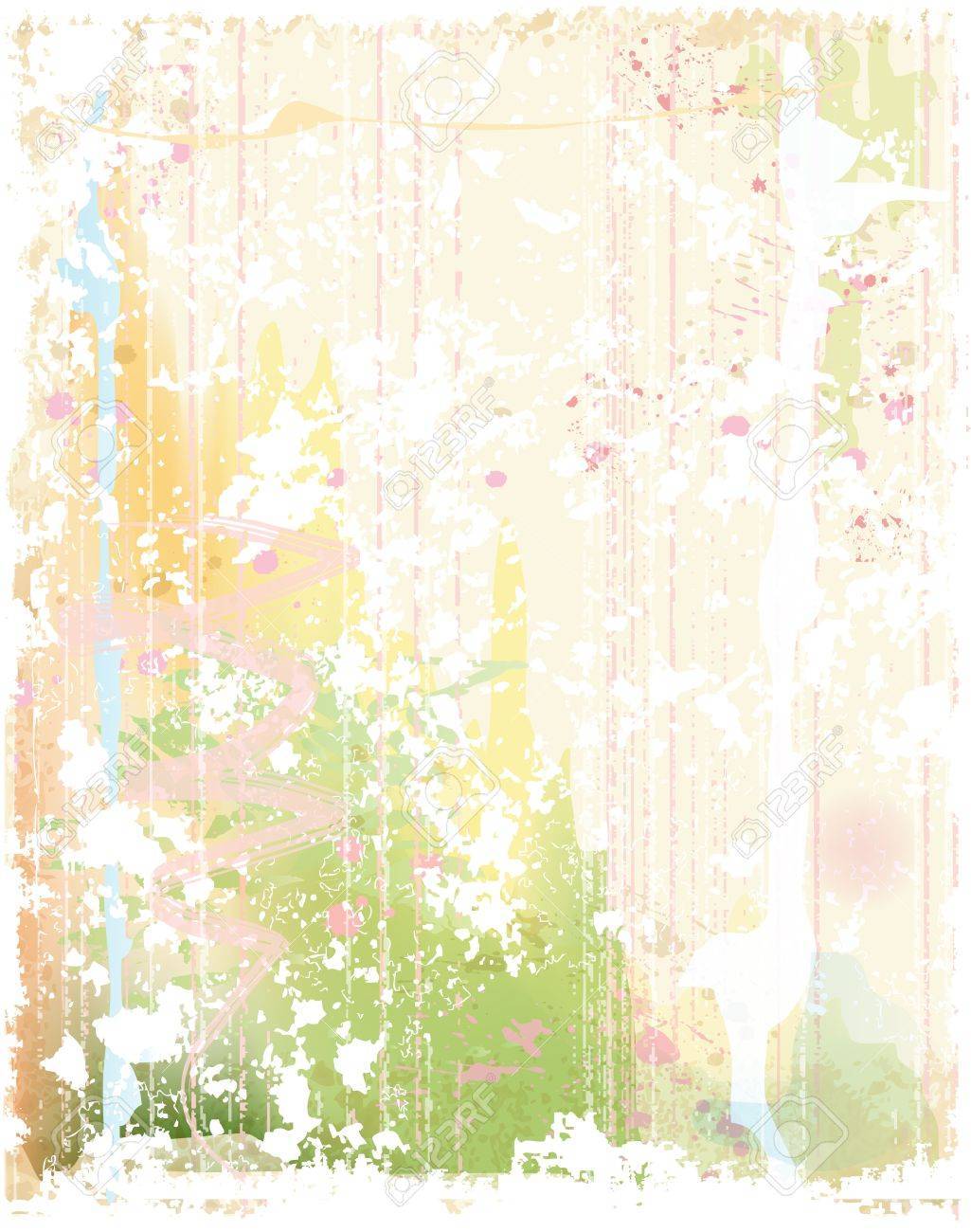 grunge background in watercolor style Stock Vector - 17242629