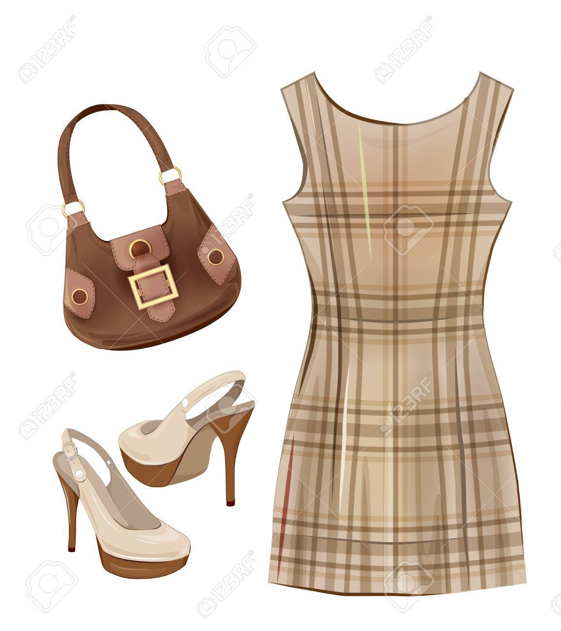 Fashion Items For Girls. Casual Dress