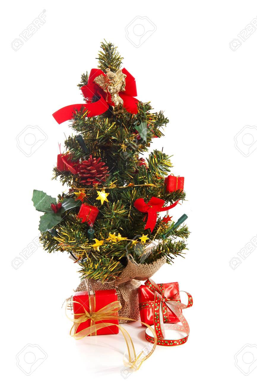 Weihnachtsbaum Kunstoff.Stock Photo