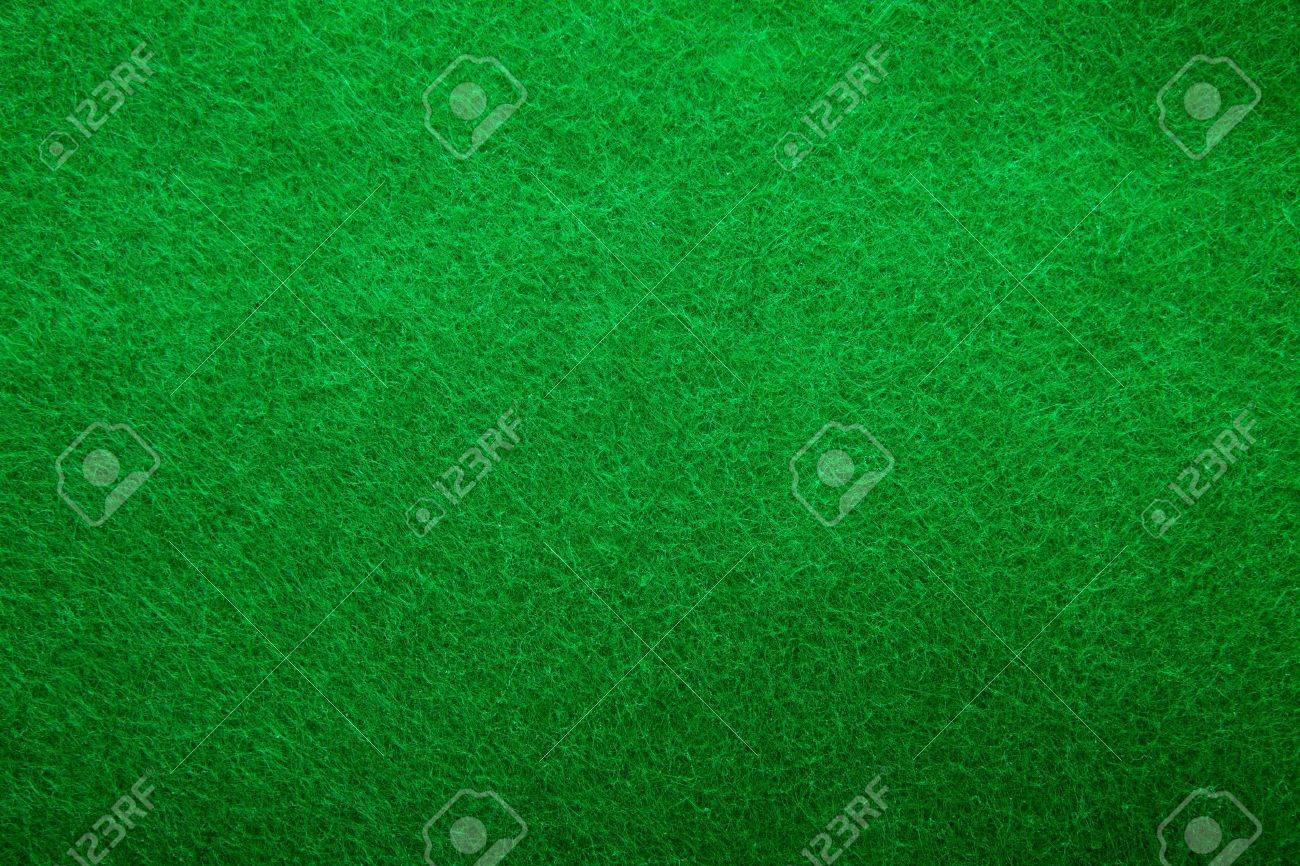Background texture of green felt casino table in closeup Stock Photo - 12791033