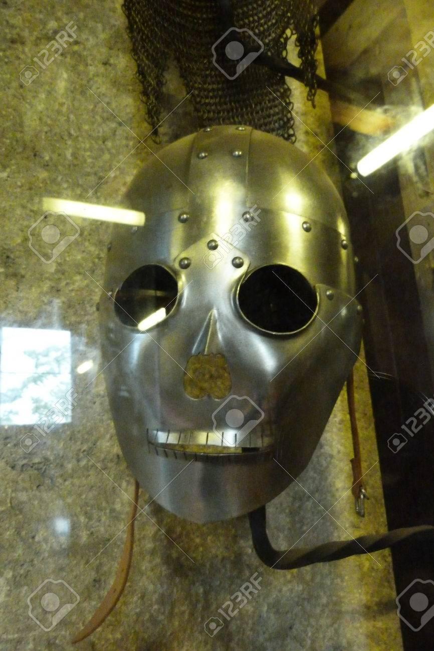 Mittelalterliche Rüstung Im Inneren Der Häuser Der Goldenen Gasse ...