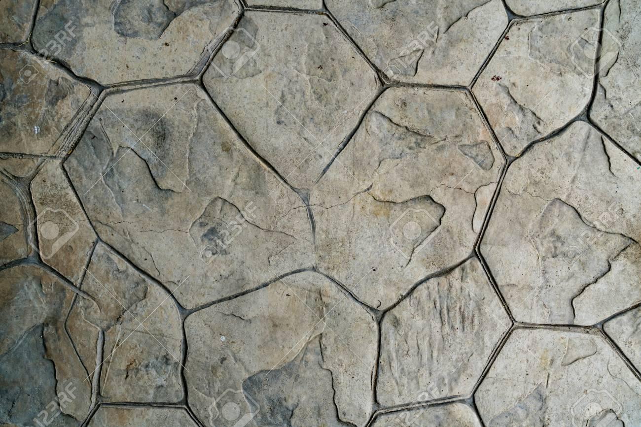 Sol en béton avec de la pierre texture timbre