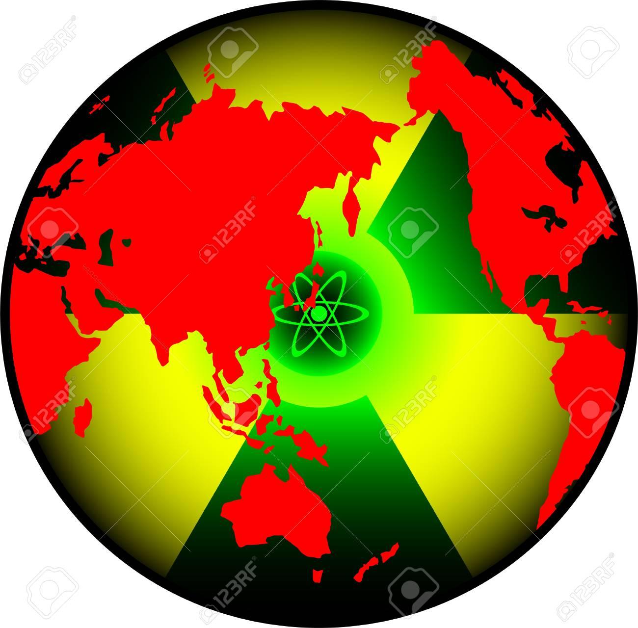 radiation world. vector illustration for design Stock Vector - 9177578
